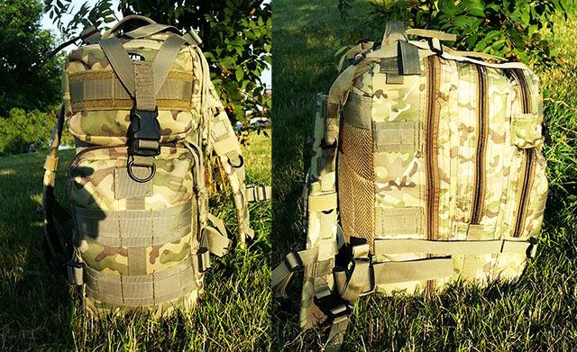 очень вместительный для своего размера рюкзак!