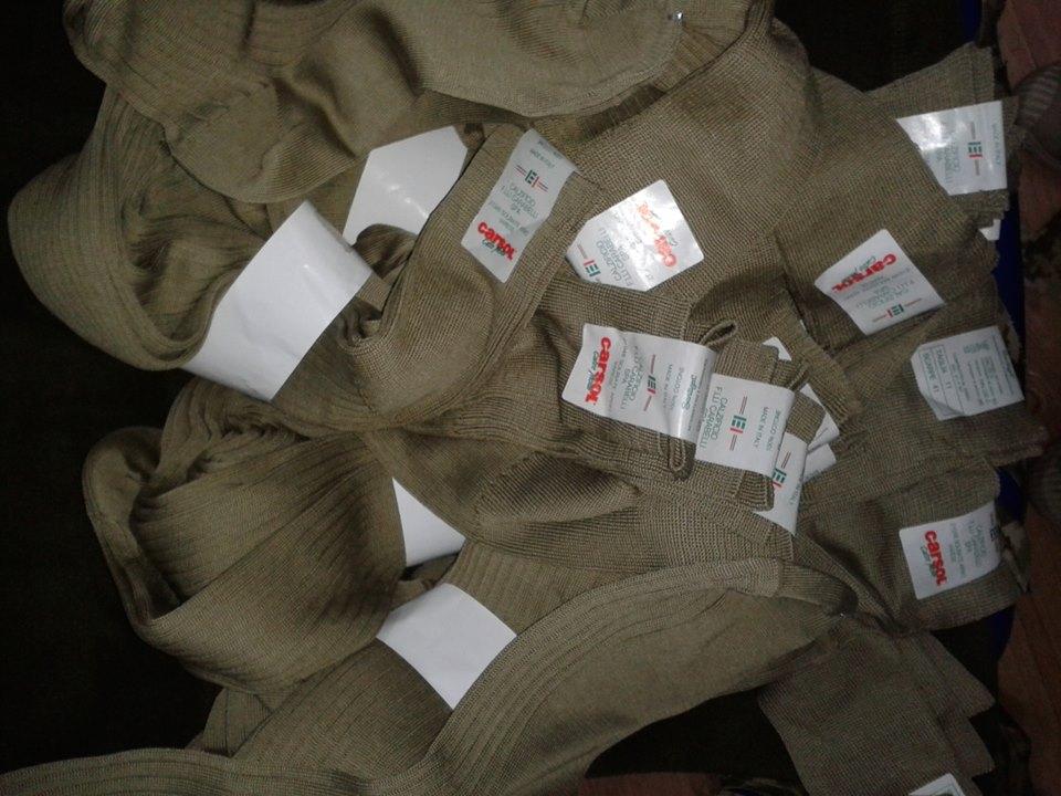 армейские высокие носки Италия