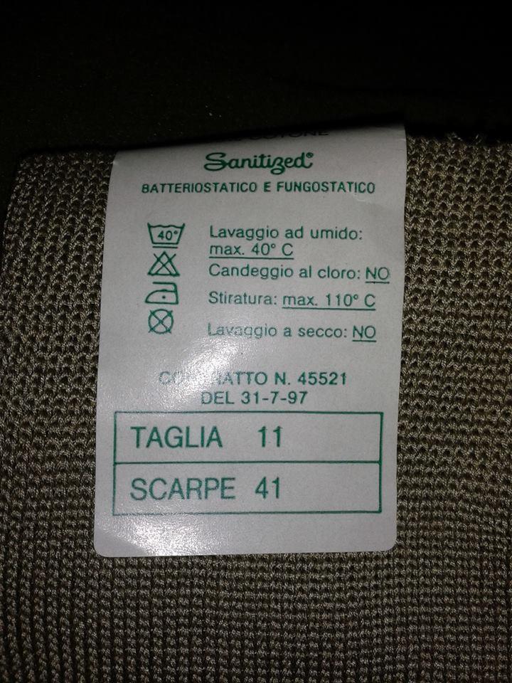носки итальянские высокие для берцев